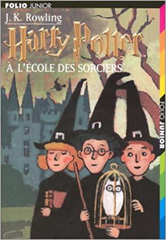 La couverture de Harry Potter à l'école des sorciers